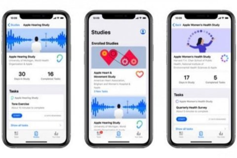Apple charges ahead into medical research; introduces Research app