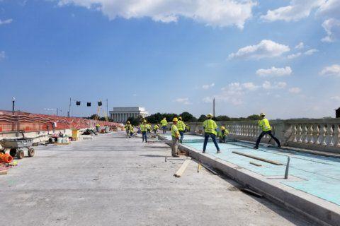 Memorial Bridge work postponed until mid-November