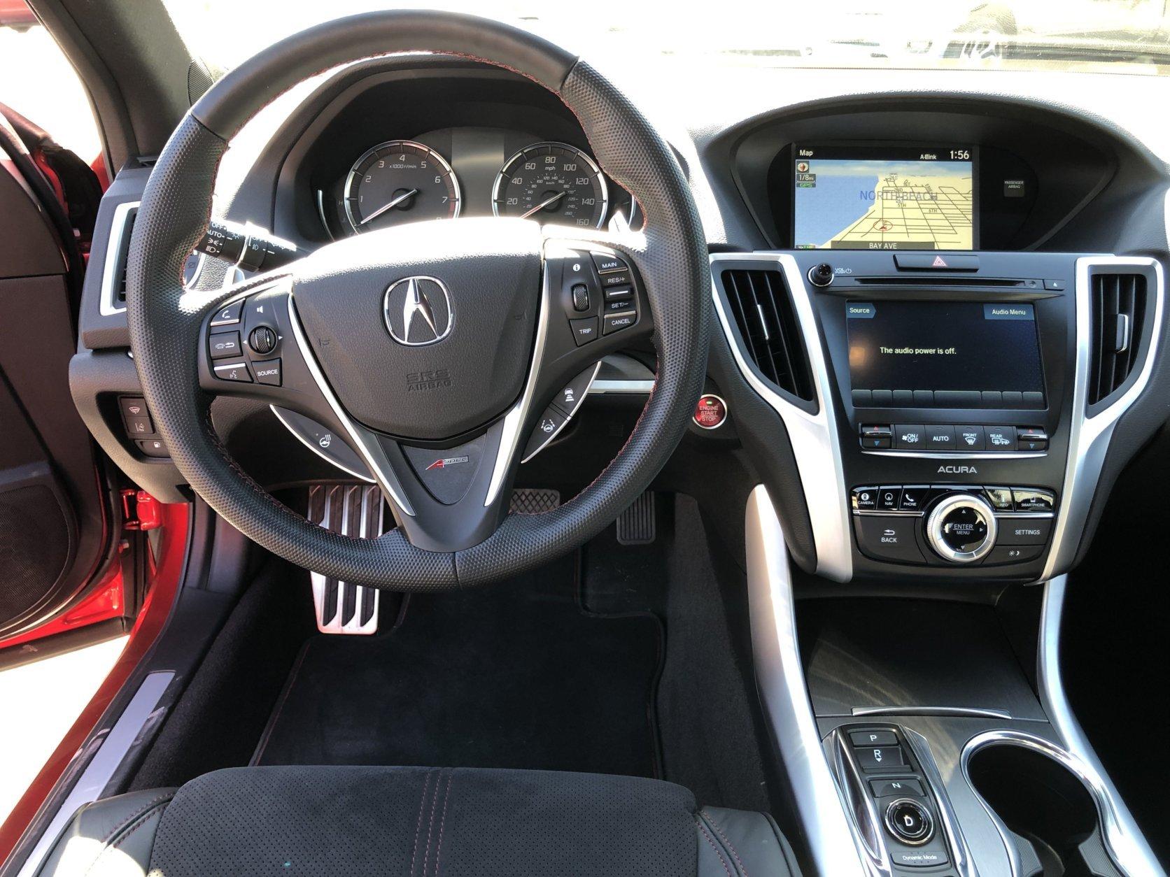 Acura TLX PMC interior