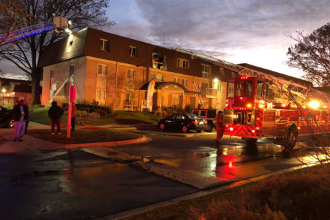 Several injured, 45 displaced after fire in Montgomery County apartment building