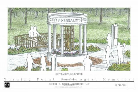 New suffragist memorial to open in Fairfax Co. recalls 'Night of Terror'