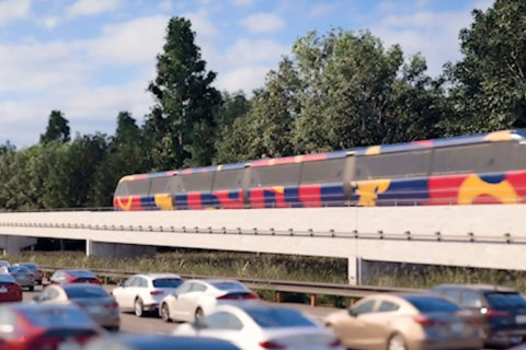 Maryland leaders consider monorail to ease I-270 congestion