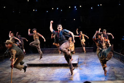 Q&A: Extra, extra, read all about it: Disney's 'Newsies' hits Arena Stage