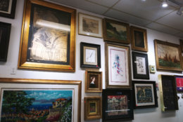paintings, pawn shop