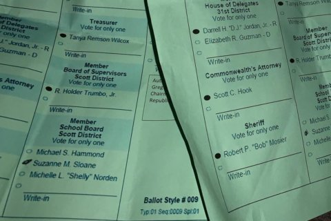 Doctored sample ballots mar Fauquier County, Va. school board election