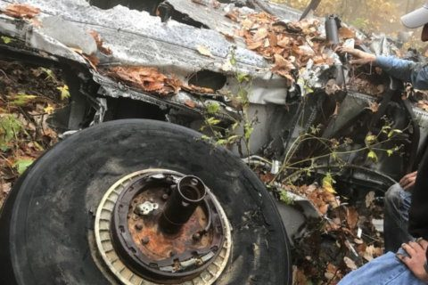 60 years after fatal air crash into Va. mountain, plane's wheel returned