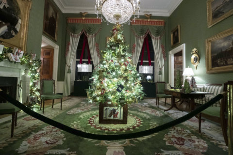 White House Christmas decorations 2019: Patriotism is the theme