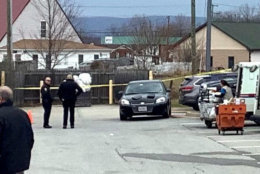 The shooting happened just after 9 a.m. Wednesday at the post office on North Church Street in downtown Lovettsville.