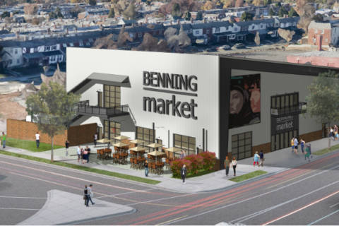 Benning Market food hall breaks ground in Ward 7