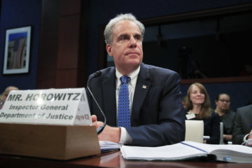 WATCH: Justice Department watchdog Horowitz testifies