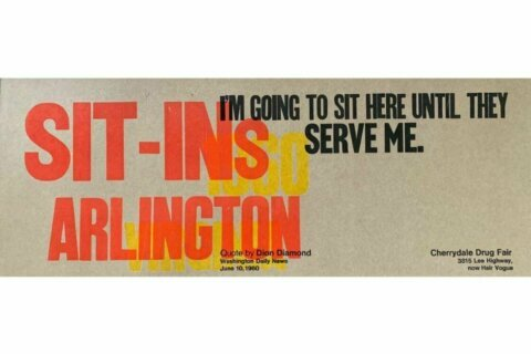 Newest 'Art on the ART Bus' installation commemorates lunch counter sit-ins in Arlington
