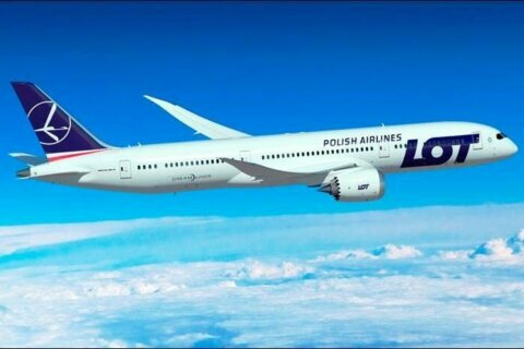 LOT Polish Airlines brings Warsaw flights to Dulles