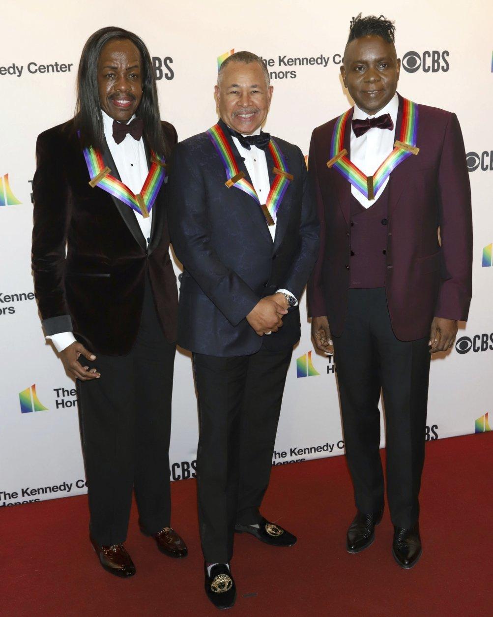 Verdine White, Ralph Johnson, Philip Bailey