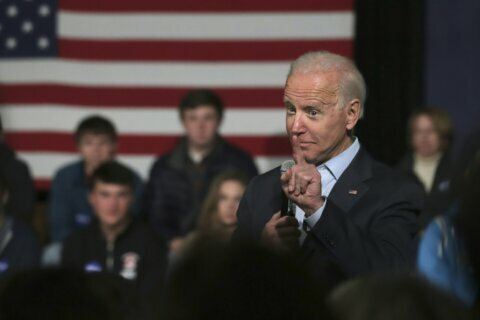Biden questioned about sharing 2020 ticket with Republican