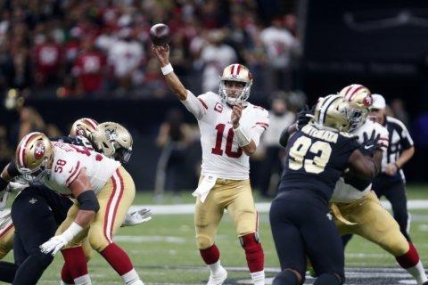 NFL ICYMI: Jimmy G's defining performance; calls hurt Pats