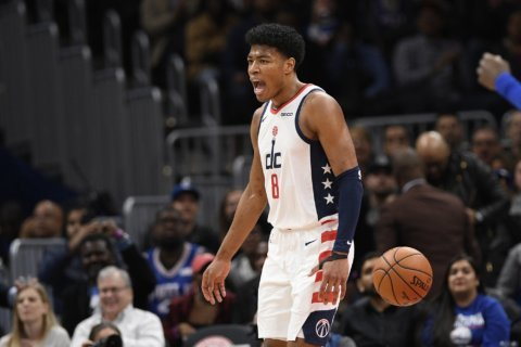 Wizards rookie Rui Hachimura growing with each game in NBA