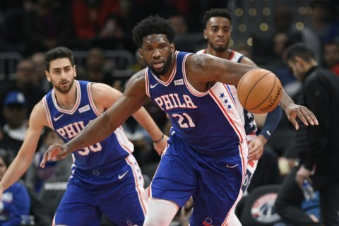 Embiid, Simmons have 15 turnovers; 76ers lose at Wiz 119-113