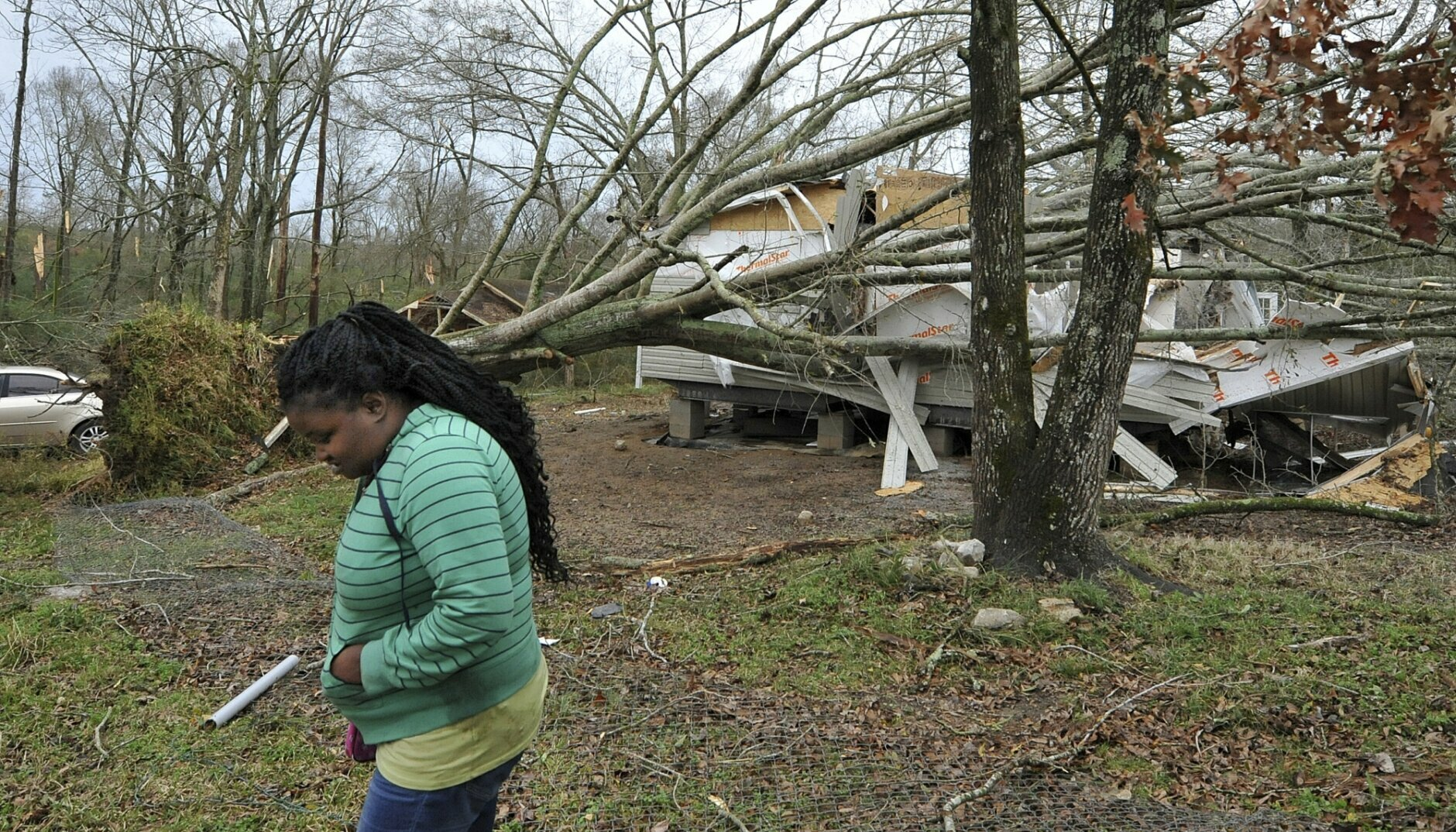 3 Dead As Suspected Twisters Other Storms Batter The South Wtop