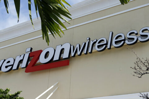 Verizon customers reported outages