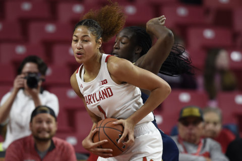 Austin's double-double helps No. 9 Maryland rout Loyola