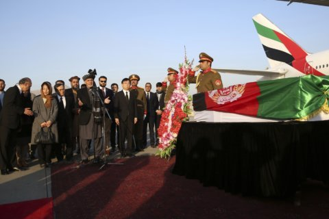 Afghanistan bids farewell to slain Japanese physician