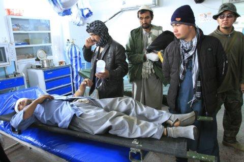 Afghan official: Roadside bombing kills 10 civilians