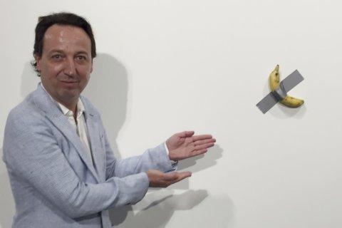 Couple who bought $120k banana art sense it will be iconic
