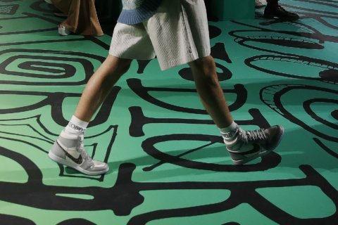 Sneakers star at glamorous parties around Art Basel Miami