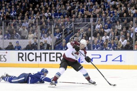 Nichushkin lifts Avalanche past Maple Leafs 3-1