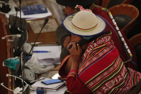 Evo Morales' party choosing candidates for Bolivia elections