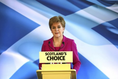 Battle ahead: Scotland party leader vows independence push