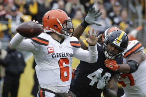 Browns enter final stretch with playoff hopes flickering