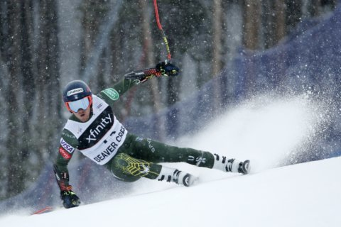 Ford cruises in giant slalom for 1st career World Cup win