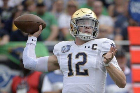 Book plans to return to quarterback Irish in 2020 season