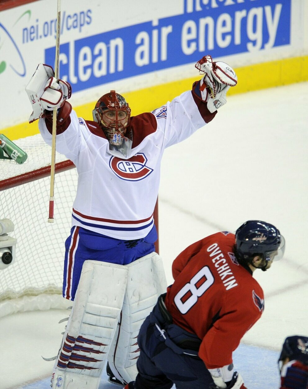 <p><strong>9. Caps collapse against Canadiens in 2010</strong></p> <p>The Washington Capitals have never had a better regular season than in 2009-10, collecting 121 points, the seventh-highest total in NHL history at the time. They had advanced to the conference semis the prior season and seemed to be building into a powerhouse as they entered their now-defunct 1-8 conference quarterfinal matchup with the Montreal Canadiens who, at 39-33-10, seemed to have little business in the postseason. After an overtime loss at home in Game 1, the Caps reeled off three straight wins, including 5-1 and 6-3 road victories in Montreal. Then, they outshot Montreal 134-64 over the final three games of the series, but managed just a single goal in each, losing all three. Later eliminations at the hands of the Penguins may have stung more, but this one cast the spell of playoff defeat that wouldn't be broken until 2018.</p>