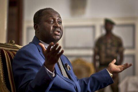 Ex-C. African Republic leader insists return is peaceful