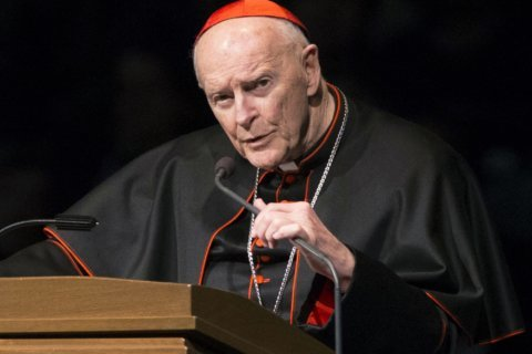 Lawsuit: McCarrick victim told pope of sex abuse in 1988