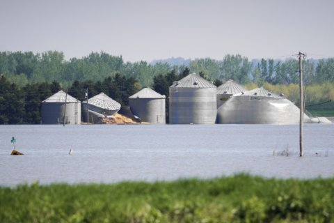 Flooded farmers face growing dilemma in warming world