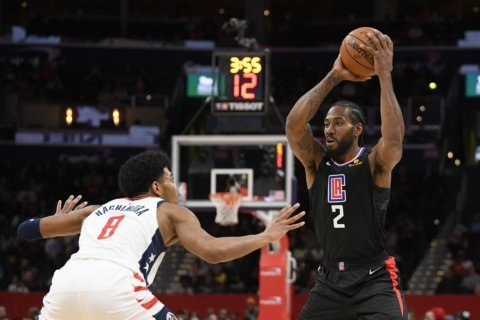 Wizards bemoan officiating in 135-119 loss to the Clippers