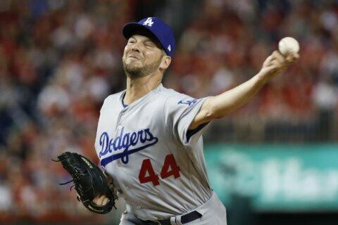 Dodgers lefty Rich Hill is Tony Conigliaro Award winner