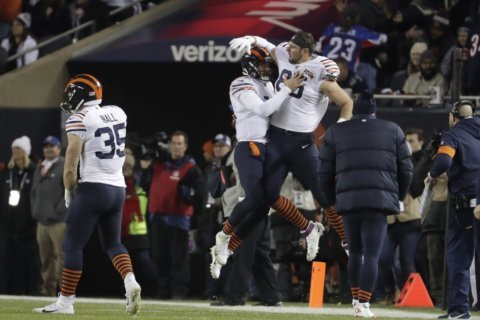Mitchell Trubisky helps Bears beat Cowboys 31-24