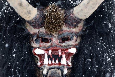 AP PHOTOS: St. Nicholas and devils parade in Czech villages