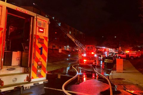 3 firefighters, 2 residents injured in fire at Northeast DC senior living community