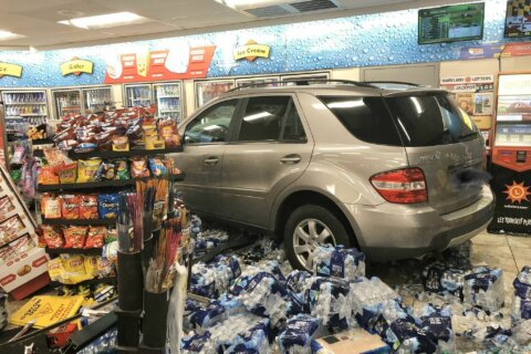 Woman injured after SUV crashes into Germantown convenience store