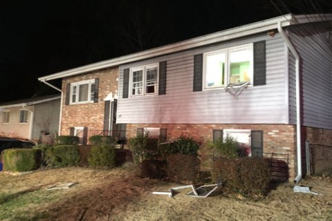 2 adults, 1 dog rescued from burning Silver Spring home