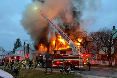 Fire damages Frederick County post office