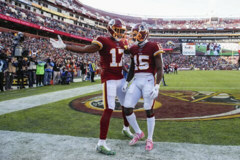 Haskins, McLaurin and Sims give Redskins some future hope