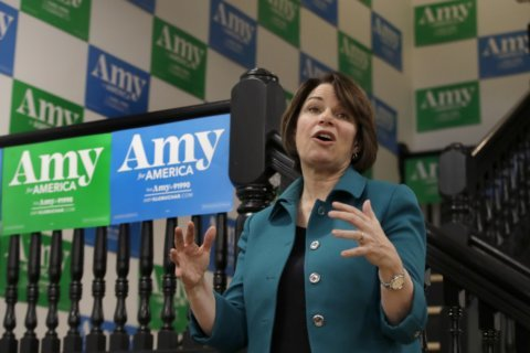 Klobuchar returns to Iowa with plan for a changing economy
