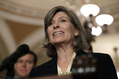Group backing Iowa's Ernst hit with complaint after AP story