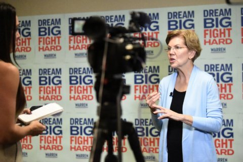 AP Interview: Warren says voters are ready for female ticket